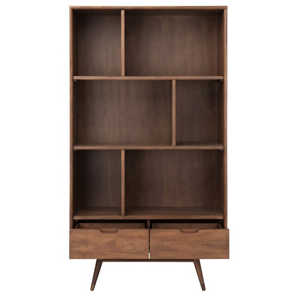 Review Geometric Bookcase