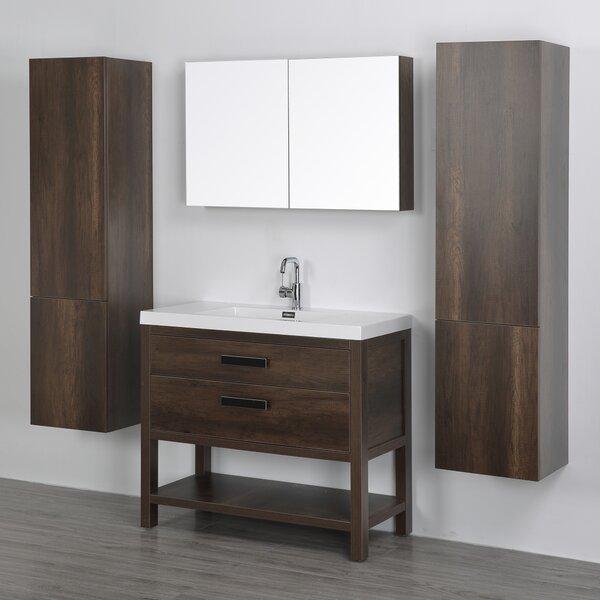 39 Single Bathroom Vanity Set with Mirror