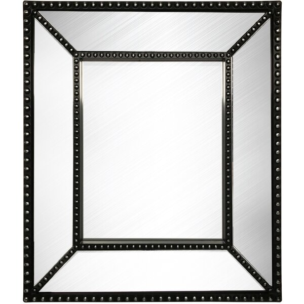 Bevel Beaded Wall Mirror by Wee's Beyond