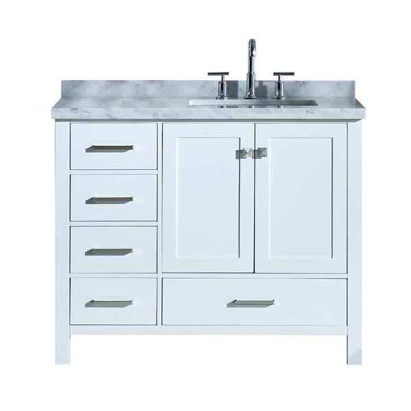 Utley 43 Rectangular Single Bathroom Vanity Set by Andover Mills