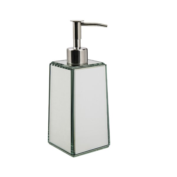 Crystal Mirror Lotion Dispenser by Wildon Home ®
