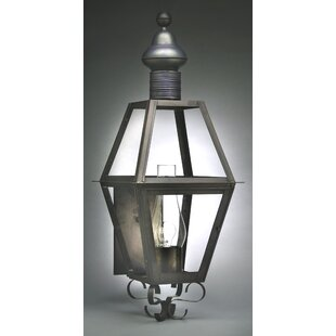 Find a Boston 1-Light Outdoor Sconce By Northeast Lantern
