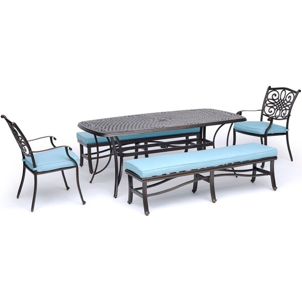 Cooke Traditions 5 Piece Dining Set by Astoria Grand