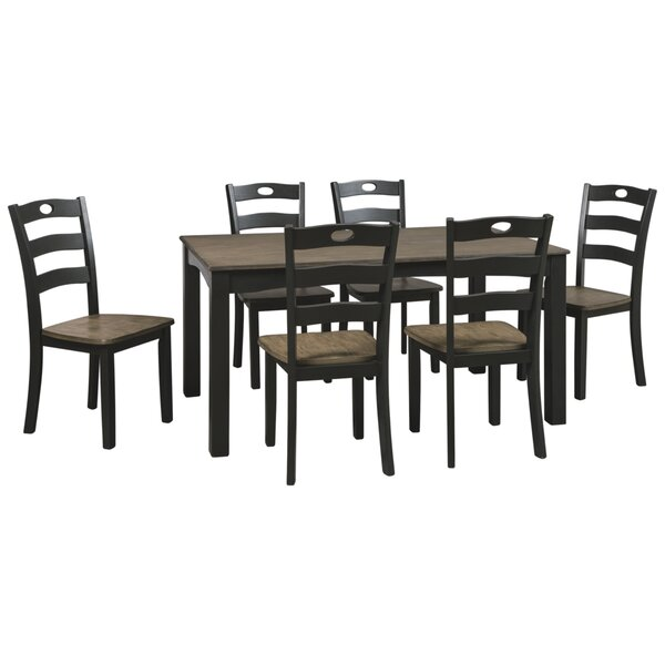 Penzance 7 Piece Dining Set by Three Posts