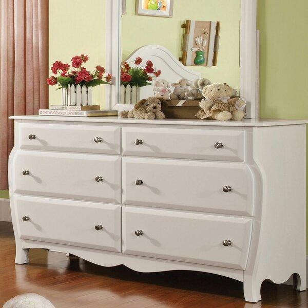Salyer 6 Drawer Double Dresser by Harriet Bee