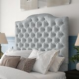 Jerrie Upholstered Panel Headboard by Darby Home Co