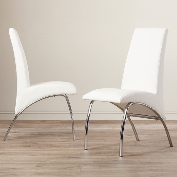 Faust Upholstered Dining Chair (Set of 2) by Orren Ellis