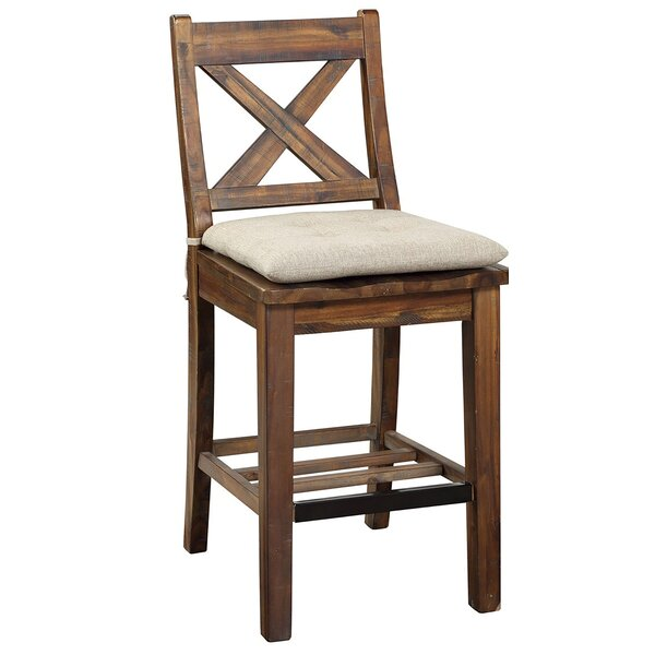 Solid Wood 24'' Counter Stool (Set of 2) by Avalon Furniture Avalon Furniture