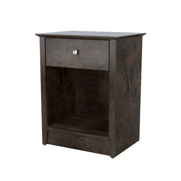 Metropolitan 1 Drawer Nightstand by Akin