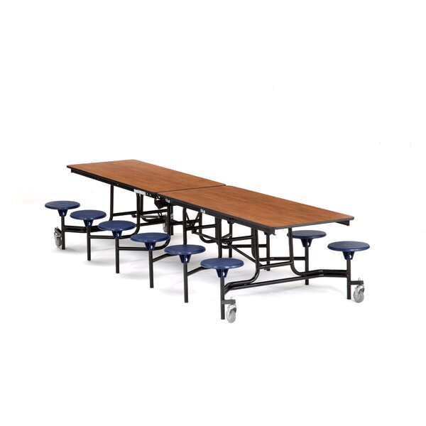 145 x 59 Rectangular Cafeteria Table by National Public Seating