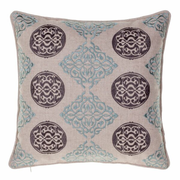 Dimmick Medallion Throw Pillow by Three Posts