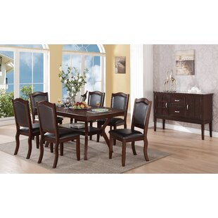 Wegman 7 Piece Dining Set By Winston Porter