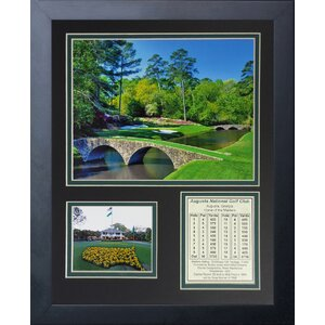 Augusta National Golf Course Framed Memorabilia by Three Posts