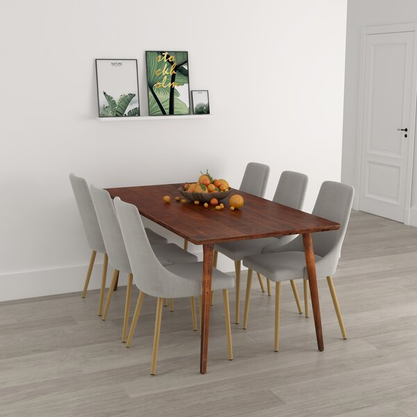 Cho 7 Piece Solid Wood Dining Set by Corrigan Studio Corrigan Studio