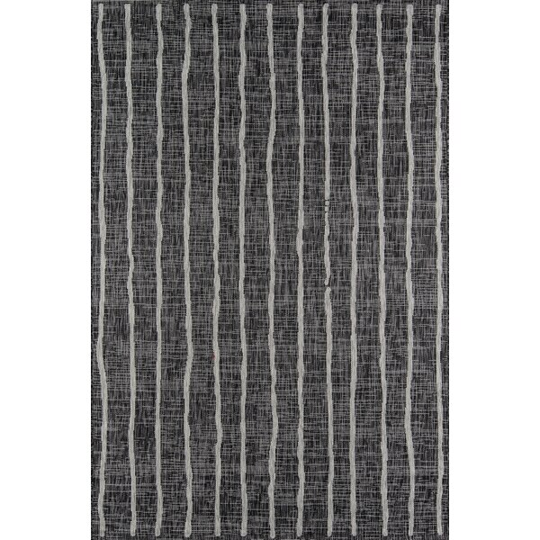 Sicily Charcoal Indoor/Outdoor Area Rug By Novogratz