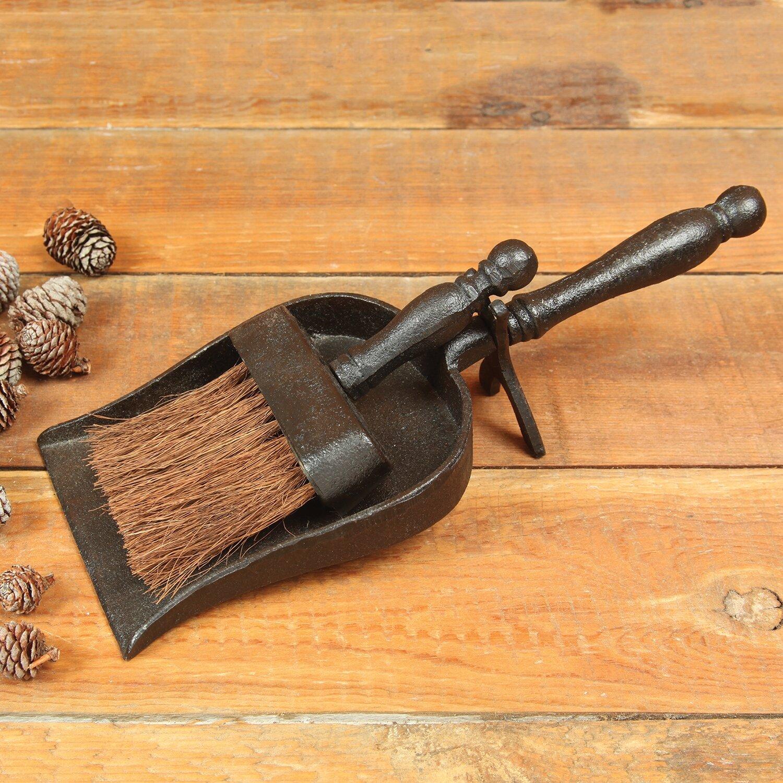 Homart Fireplace Cast Iron Dustpans With Broom Wayfair