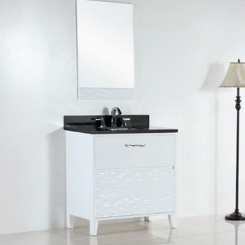 30.4 Single Sink Bathroom Vanity Set by Bellaterra Home