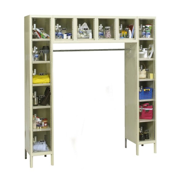 Safety-View 6 Tier 5 Wide Safety Locker by HallowellSafety-View 6 Tier 5 Wide Safety Locker by Hallowell