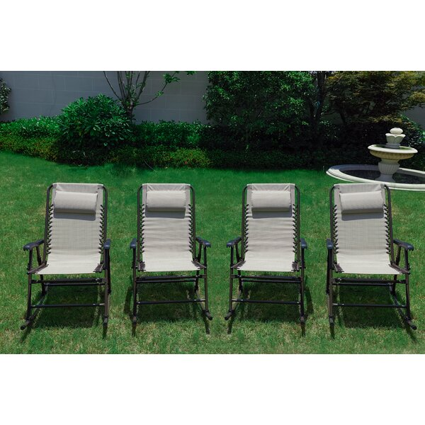 Steele Folding Rocking Chair (Set of 4) by Freeport Park