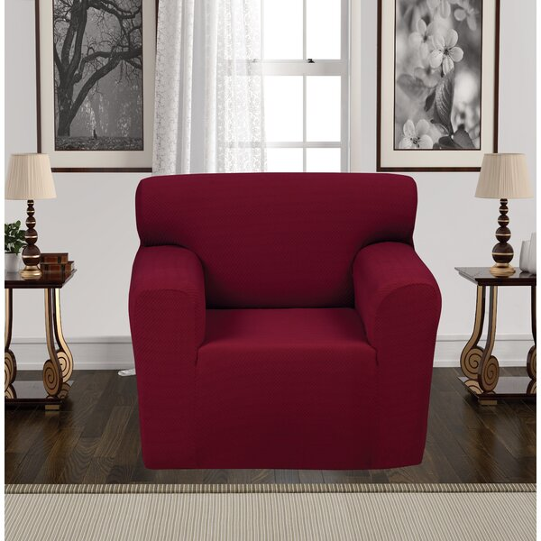 Review Box Cushion Armchair Slipcover
