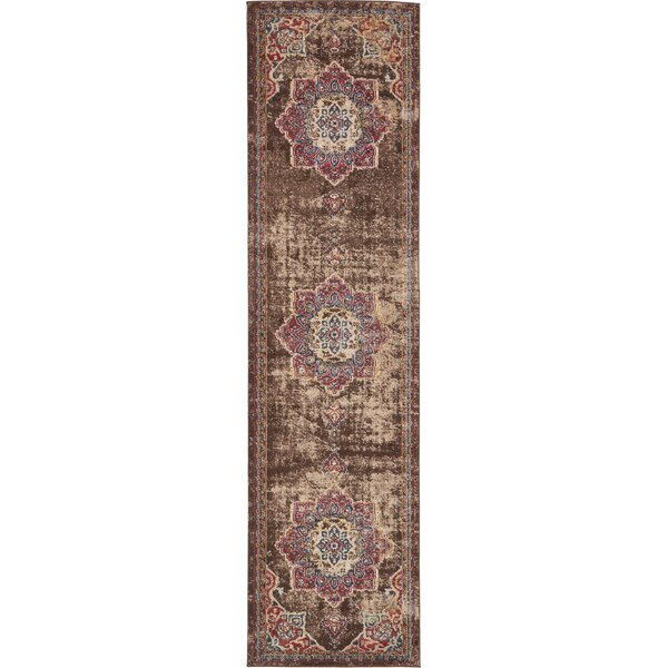 Hansard Belgium Chocolate Brown Area Rug by Mercury Row