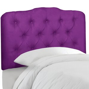 Roselare Tufted Upholstered Panel Headboard by House of Hampton