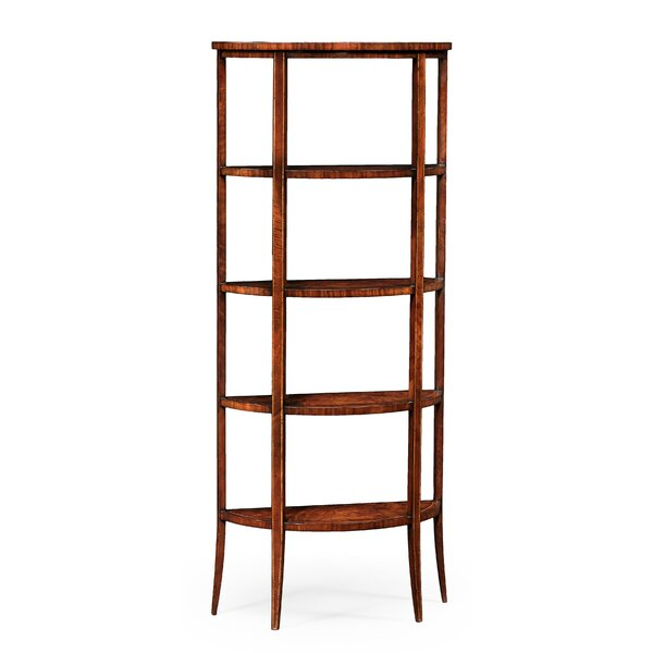 Biedermeier Five-Tier Etagere Bookcase by Jonathan Charles Fine Furniture