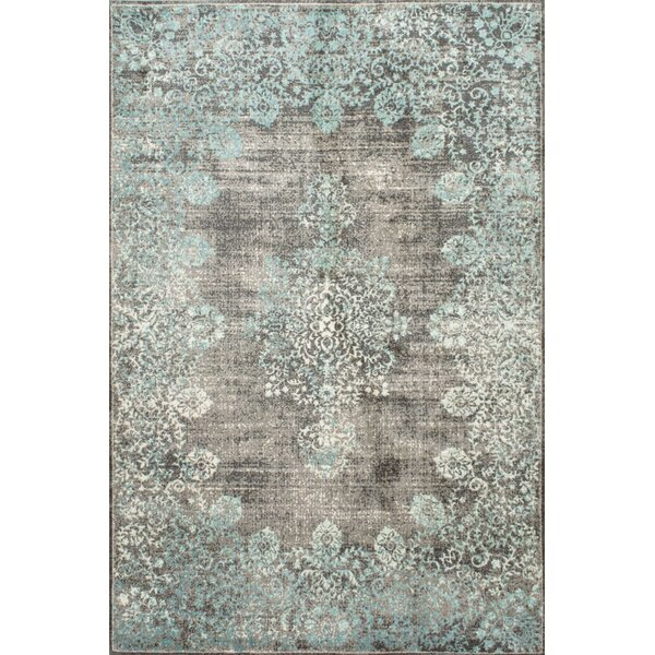 David Blue Area Rug By Mistana.