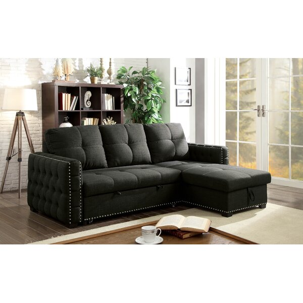 Review Ladwig Left Hand Facing Sleeper Sectional