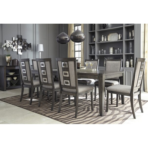 Barr 9 Piece Dining Set by World Menagerie