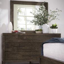 Vickrey 7 Drawer Dresser with Mirror by Brayden Studio