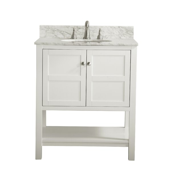 Burkes 30 Single Bathroom Vanity Set by Alcott Hil