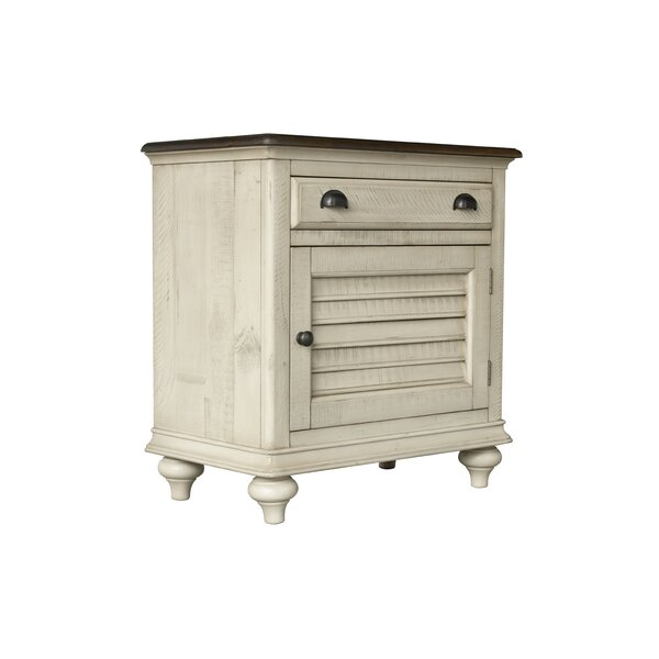 Wilfred 1 Drawer Nightstand By Bayou Breeze