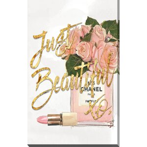 'Just Beautiful Chanel' Graphic Art Print by Picture Perfect International