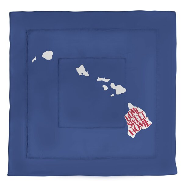 Hawaii Home Sweet Single Reversible Comforter
