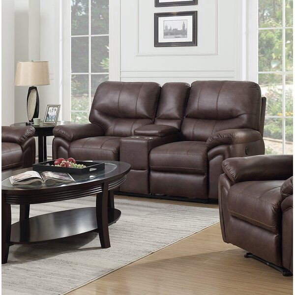 Modern Collection Quance Reclining Loveseat by Winston Porter by Winston Porter