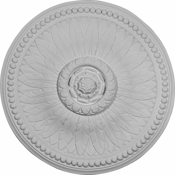 Bailey 18 1/8H x 18 1/8W x 3/4D Ceiling Medallion by Ekena Millwork