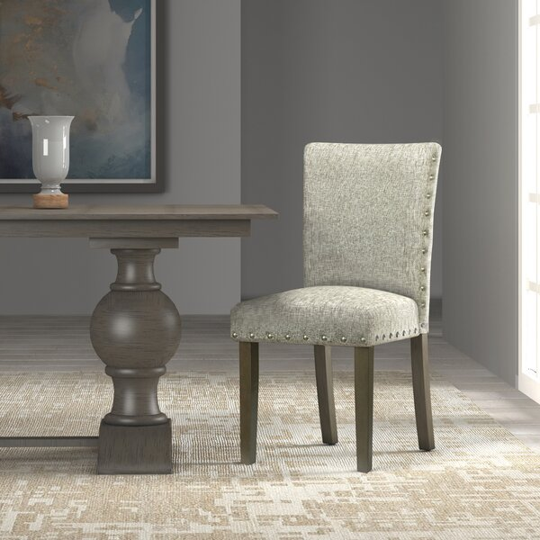 Amazing Saxis Classic Parsons Upholstered Dining Chair (Set Of 2) By Beachcrest Home Sale