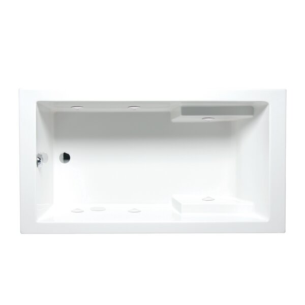Nadia 60 x 32 Drop in Whirlpool Bathtub by Americh