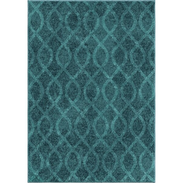 Dora Blue Area Rug by Threadbind