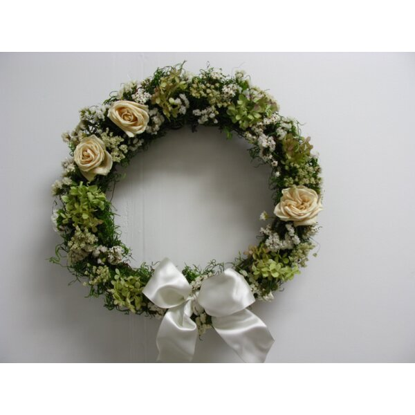 16 Romance Wreath by From the Garden