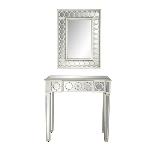 Baypoint Modern Vanity with Mirror (Set of 2) by House of Hampton