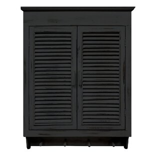 Read Reviews Thurman Louvered Cabinet By Beachcrest Home