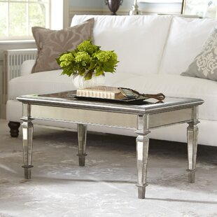 Best Leighton Mirrored Coffee Table by Birch Lane™