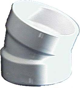 Sch. 40 PVC-DWV Elbows by GenovaProducts