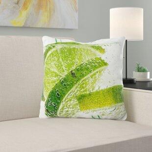 Lime Green Pillows Wayfair