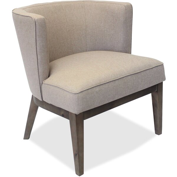 Linen Fabric Side Chair By Lorell
