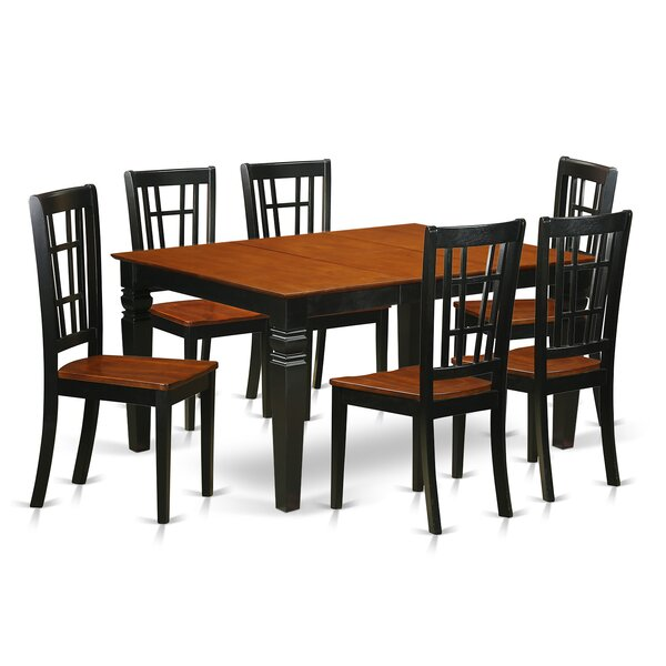 Bellar 7 Piece Dining Set by Darby Home Co