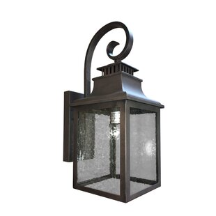 Read Reviews Revell LED Outdoor Wall Lantern By Charlton Home