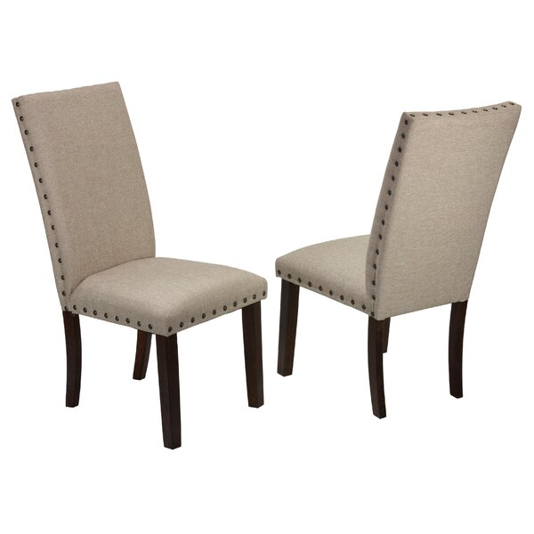 Kenlee Upholstered Dining Chair (Set of 2) by Gracie Oaks